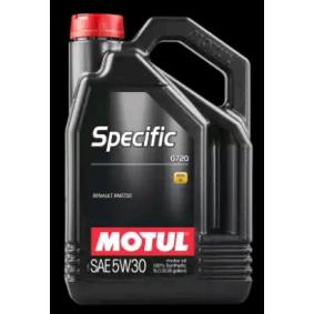C4 MOTUL SPECIFIC 5W-30, 0720, Inhalt: 5l Motoröl 102209 günstig kaufen