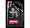 Motorolie 102209 MOTUL — alleen nieuwe wisselstukken