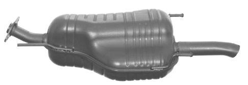 Original Nachschalldämpfer OS-463 Opel