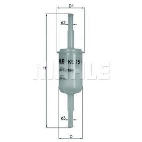 palivovy filtr KL 15 pro RENAULT 15 ve slevě – kupujte ihned!