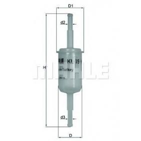 Filter goriva KL 15 za RENAULT 15 po znižani ceni - kupi zdaj!