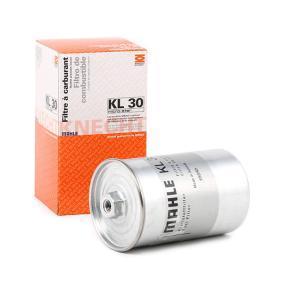 79927972 MAHLE ORIGINAL Leitungsfilter Höhe: 152,0mm Kraftstofffilter KL 30 günstig kaufen