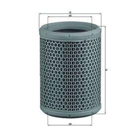 oro filtras LX 130 už RENAULT 12 su nuolaida — įsigykite dabar!