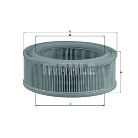 Zracni filter LX 140 za RENAULT 10 po znižani ceni - kupi zdaj!