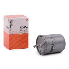 79911697 MAHLE ORIGINAL Leitungsfilter Höhe: 128,3mm Kraftstofffilter KL 494 günstig kaufen