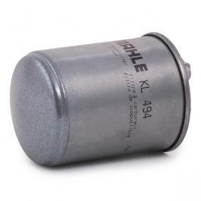 KL494 Leitungsfilter MAHLE ORIGINAL 70329166 - Große Auswahl - stark reduziert