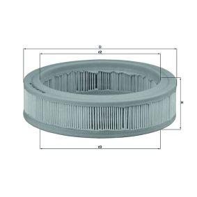 Vzduchový filtr LX 487 pro RENAULT 4 ve slevě – kupujte ihned!