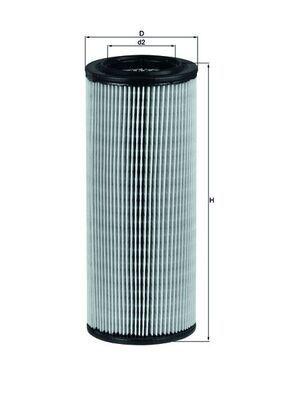 MAHLE ORIGINAL Luftfilter LX 801
