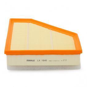 LX 1640 Filtro de ar MAHLE ORIGINAL - Experiência a preços com desconto