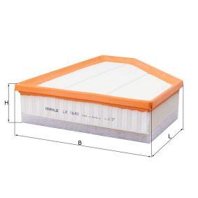 LX 1640 Filtro de ar MAHLE ORIGINAL originais de qualidade
