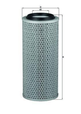 LX 200 MAHLE ORIGINAL Luftfilter für STEYR online bestellen