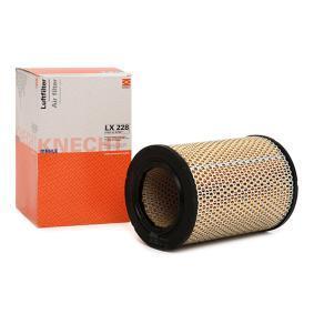Günstige Luftfilter mit Artikelnummer: LX 228 OPEL DIPLOMAT jetzt bestellen