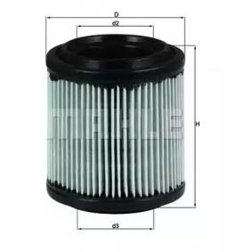 Vzduchový filtr LX 279 pro PORSCHE 928 ve slevě – kupujte ihned!
