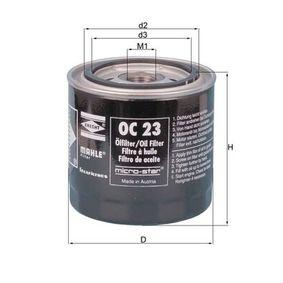 Filtro de aceite OC 23 OF SAAB 96 a un precio bajo, ¡comprar ahora!