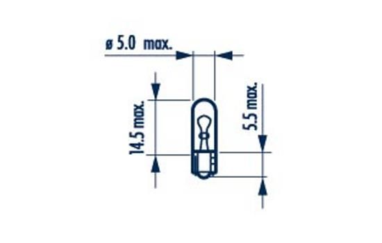 Köp NARVA 17037 - Kupédetaljer till Volvo: 12V 1W, W2x4,6d