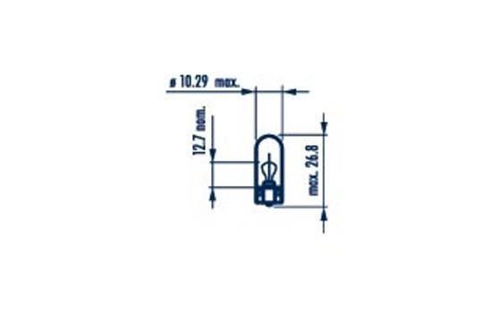 17177 Lemputė, indikatorius NARVA originalios kokybiškos