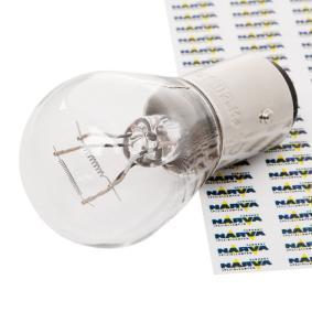 NARVA Glödlampa, bromsljus 17882 - köp med 17% rabatt