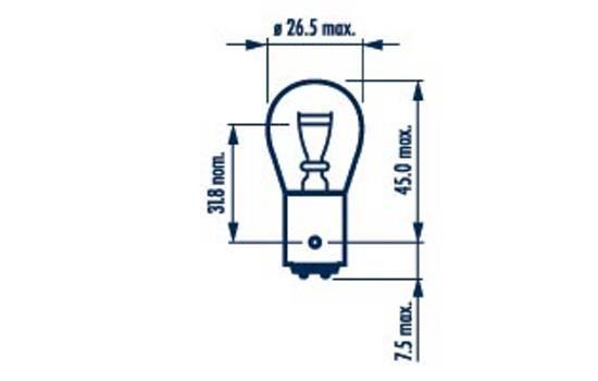 17916 Glühlampe, Blinkleuchte NARVA in Original Qualität