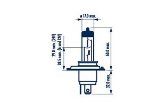 48677 NARVA Glühlampe, Fernscheinwerfer billiger online kaufen