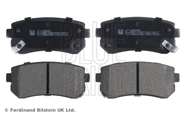 ADG04282 BLUE PRINT Rear Axle Width: 41,0mm, Thickness 1: 15,6mm Brake Pad Set, disc brake ADG04282 cheap