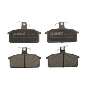 Brake Pad Set, disc brake ABE Front Axle — item: C18013ABE  Buy now!