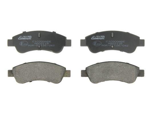 Brake pad set disc brake C1C000ABE ABE — only new parts