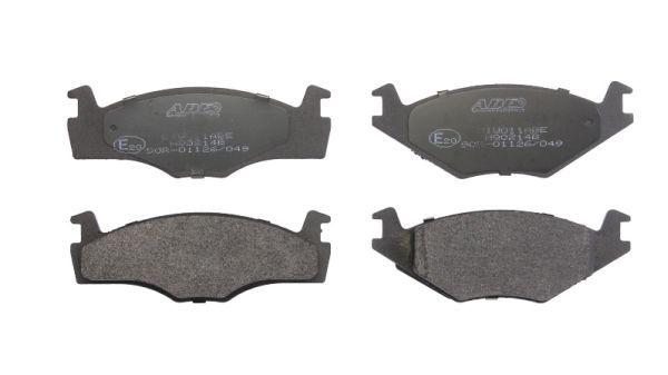 Bremsbelagsatz Scheibenbremse ABE C1W011ABE