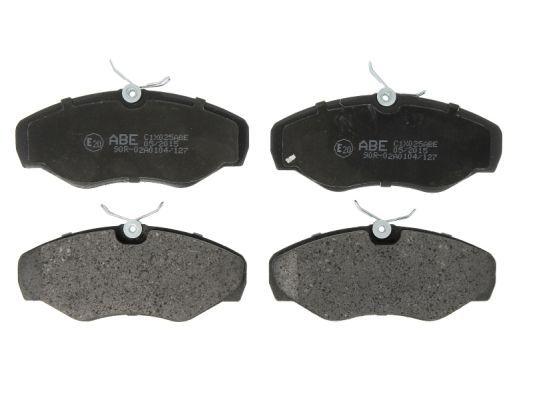 Bremsbeläge ABE C1X025ABE