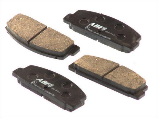 MAZDA RX-7 2000 Tuning - Original ABE C23002ABE Höhe: 39,2mm, Breite: 107,6mm, Dicke/Stärke: 13,1mm