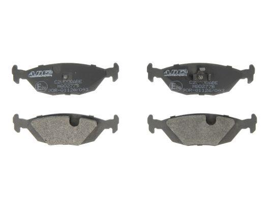 C2V000ABE ABE Hinterachse, exkl. Verschleißwarnkontakt, nicht für Verschleißwarnanzeiger vorbereitet Höhe: 37,4mm, Breite: 125mm, Dicke/Stärke: 15mm Bremsbelagsatz, Scheibenbremse C2V000ABE günstig kaufen