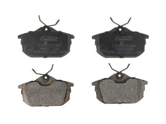 Original SMART Bremsbelagsatz Scheibenbremse C2V005ABE
