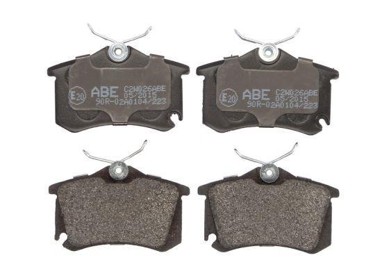 ABE Bremsbelagsatz, Scheibenbremse C2W026ABE