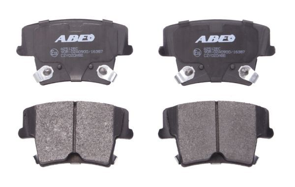DODGE CHARGER 2015 Bremsklötze - Original ABE C2Y020ABE Höhe: 57,5mm, Breite: 101,4mm, Dicke/Stärke: 17,8mm