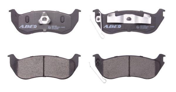 C2Y022ABE ABE Hinterachse Höhe: 49,3mm, Breite: 140,5mm, Dicke/Stärke: 15mm Bremsbelagsatz, Scheibenbremse C2Y022ABE günstig kaufen