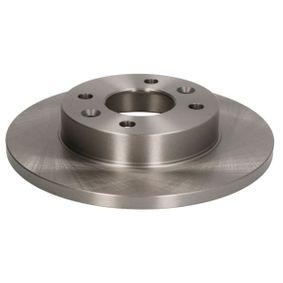 C3R002ABE ABE Vorderachse, Voll, mit Schrauben Ø: 238mm, Lochanzahl: 4, Bremsscheibendicke: 12mm Bremsscheibe C3R002ABE günstig kaufen
