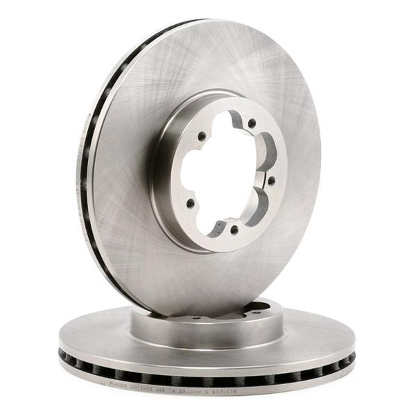 DDF1555 Спирачен диск FERODO DDF15551 - Голям избор — голямо намалание