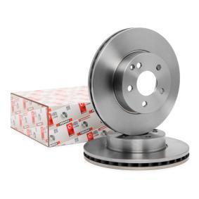 DDF1690C FERODO PREMIER ventilerad, utan skruvar Ø: 295,28mm, Hålant.: 5, Bromsskivetjocklek: 28mm Bromsskiva DDF1690 köp lågt pris