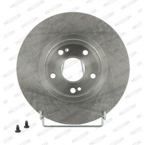 DDF11821 FERODO PREMIER belüftet, mit Schrauben Ø: 280mm, Lochanzahl: 5, Bremsscheibendicke: 24mm Bremsscheibe DDF1182 günstig kaufen