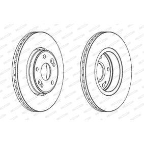 DDF1182 Bremsscheibe FERODO DDF1182 - Große Auswahl - stark reduziert