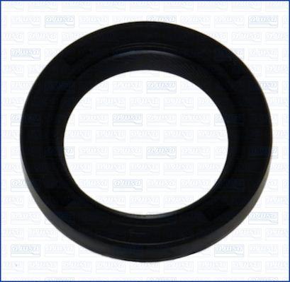 AJUSA: Original Wellendichtring Kurbelwelle 15045300 (Innendurchmesser: 27mm, Ø: 39,5mm)