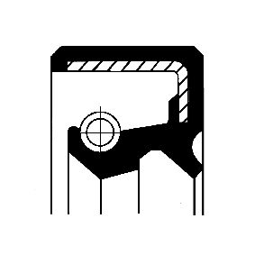 Pērc un aizvieto Vārpstas blīvgredzens, Riteņa rumba CORTECO 12011153B