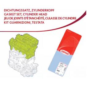 Jeu Joints Étanchéité Joint de culasse CORTECO 417987p RENAULT