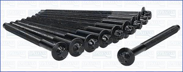 AJUSA: Original Zylinderkopfschraubensatz 81034200 (Länge: 147mm, Gewindemaß: M11)