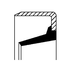 Įsigyti ir pakeisti veleno sandariklis, rato stebulė CORTECO 12017123B