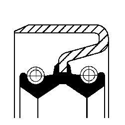 CORTECO: Original Verteilergetriebe Einzelteile 19033938B ()