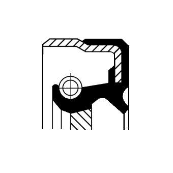MERCEDES-BENZ SLK Verteilergetriebe Einzelteile - Original CORTECO 01036282B