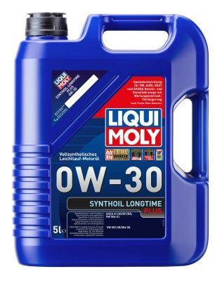 Comprare SynthoilLongtimePlus0W30 LIQUI MOLY Synthoil, Longtime Plus 0W-30, 5l, Olio sintetico Olio motore 1151 poco costoso