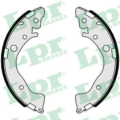 Original HONDA Bremsklötze für Trommelbremse 01079