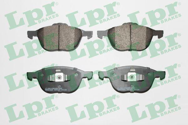 LPR Brake Pad Set, disc brake 05P1627