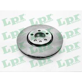 A1451V LPR vnitřně ventilováno R: 288mm, ráfek: 5-díra, Zesileny brzdovy kotouc: 25mm Brzdový kotouč A1451V kupte si levně